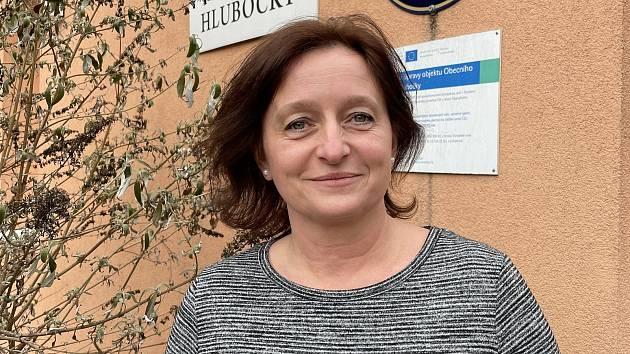 Eva Hasníková, starostka Hluboček