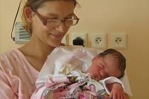 Viktor Kuchta, Těchanov, narozen 2. srpna v Olomouci, míra 49 cm, váha 2860 g