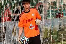 Brankář HFK Olomouc Filip Mucha