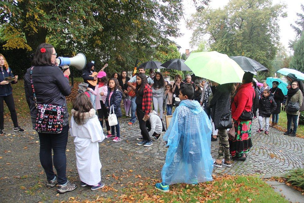 Na Svatém Kopečku proběhla 19. romská pouť. Sjeli se Romové z Česka i Slovenska