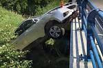 Nehoda mezi Dubem nad Moravou a Brodkem u Přerova