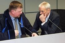 Krajský soud v Olomouci začal projednávat kauzu Vidkun. Jiří Rozbořil s obhájcem