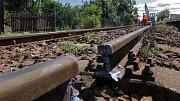 Rekonstrukce železniční trati 292 přes Jeseníky u Bohutína. Ilustrační foto