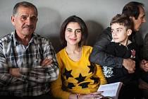 Rodina křesťanských uprchlíků z Iráku v Brně
