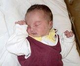 Marie Skřebská, Bystrovany, narozena 29. května ve Šternberku, míra 48 cm, váha 2950 g
