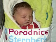 Emma Petrášová, Šternberk, narozena 5. prosince ve Šternberku, míra 52 cm, váha 4240 g