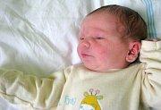 Toby Barker, Olomouc, narozen 11. května v Olomouci, míra 52 cm, váha 3500 g