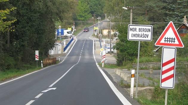 Nový most v Ondrášově