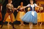 Romantický balet Giselle na scéně Moravského divadla.