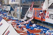 Andrův stadion, den poté.