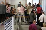 Eurovolby - zpracování výsledků na olomouckém magistrátu