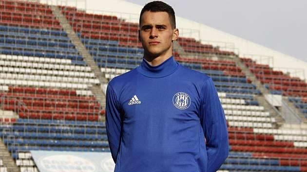 Jan David, fotbalista týmu SK Sigma U19.