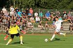 Olomoucká Sigma vyhrála ve 2. kole domácího poháru MOL Cupu v Uničově 4:2. Antonín Růsek, Marek Kalina
