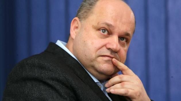 Ředitel záchranné služby Olomouckého kraje Petr Hubáček