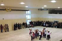 Víceúčelové centrum se společenským sálem v Přáslavicích