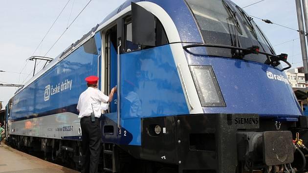 Railjet Českých drah pro trasu Praha-Brno-Břeclav-Vídeň