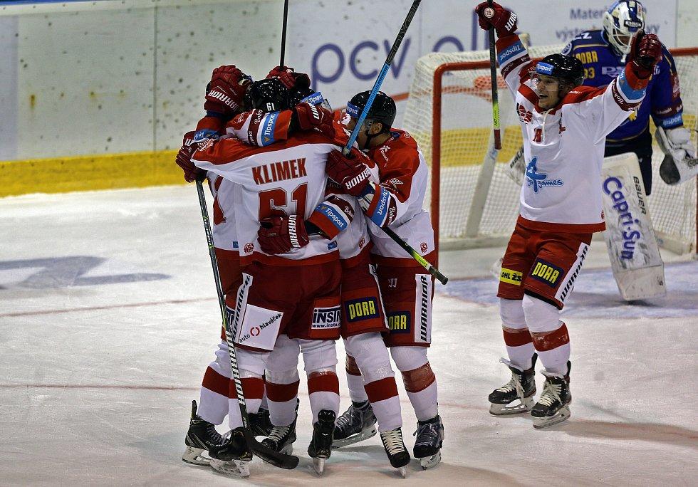 Olomouci proti Zlínu - 1. 10. 2019