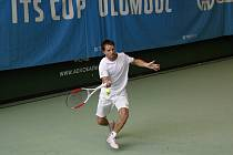 Tenista Jaroslav Pospíšil ve finále ITS CUPu.