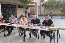Open-air zasedání zastupitelstva ve Velké Bystřici