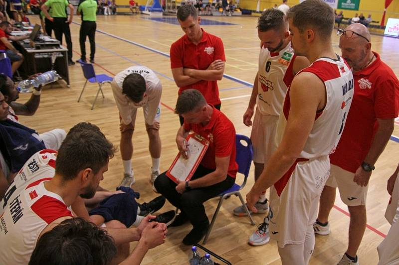 Basketbalisté Olomoucka. Ilustrační foto