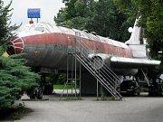 Olomoucké letadlu Tu-104 alias bar Letka