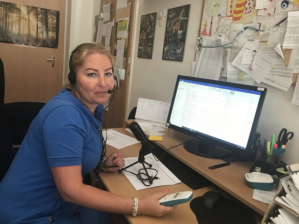 Barbora Hanáková, vedoucí protiepidemického oddělení Krajské hygienické stanice Olomouckého kraje