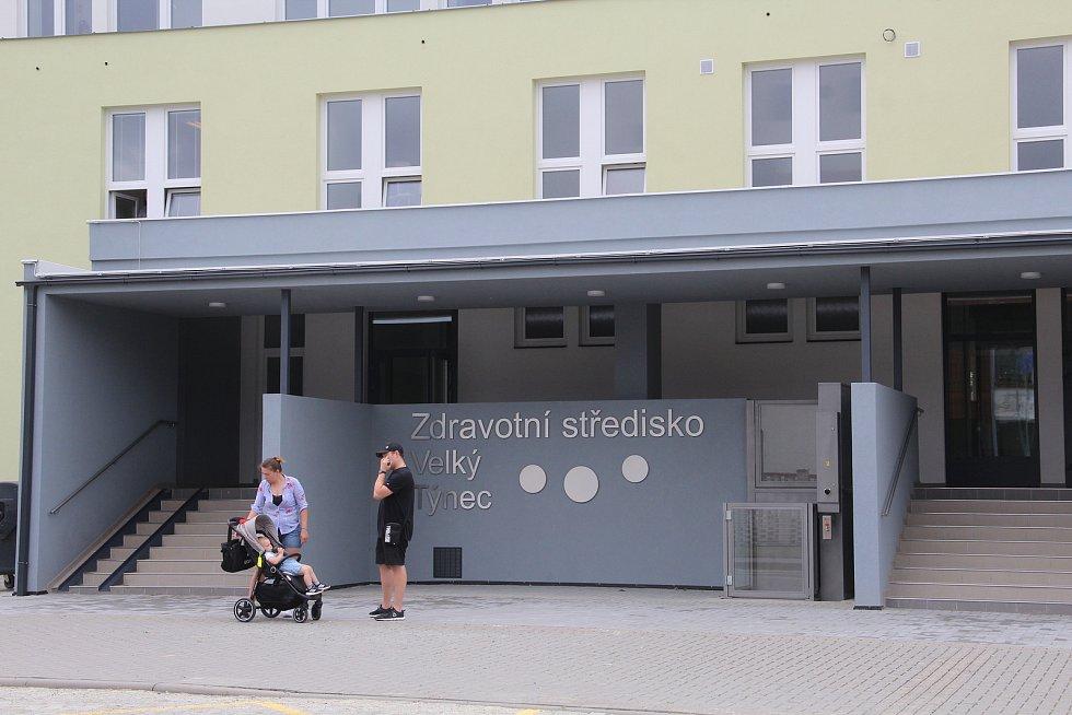 Opravené zdravotní středisko ve Velkém Týnci