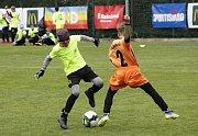 Fotbalový areál Sigmy Olomouc hostil krajské finále McDonald's Cupu.