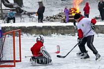 Winter classic games na lašťanském rybníku