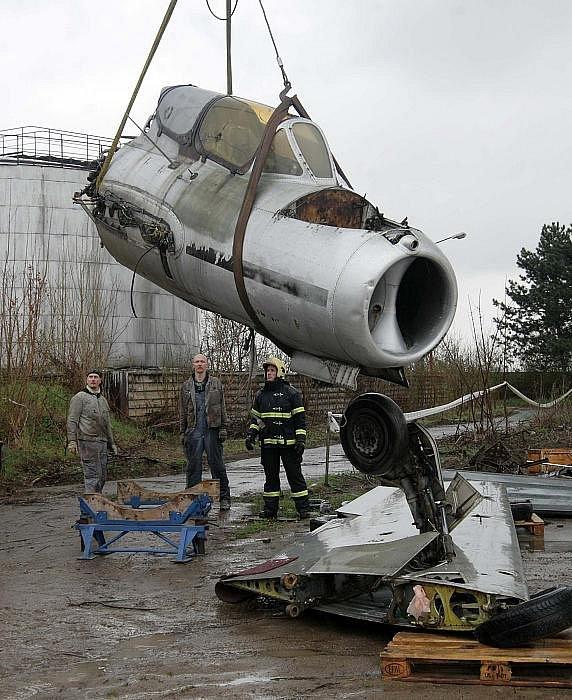Mig-15UTI v pro letecké muzeum v Neředíně