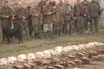 Kvůli loňské tuhé zimě v letošní sezoně myslivci ulovili jen zlomek obvyklého množství zvěře.