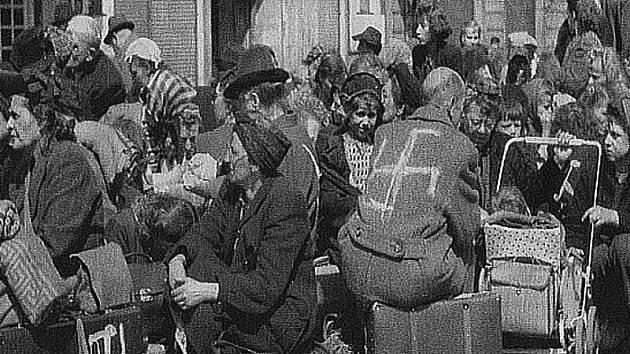 Poválečný odsun Němců z Československa. Ilustrační foto