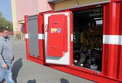 Nová elektrocentrála olomouckých hasičů