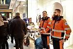 Hrdinové regionu a jejich práce byli k vidění  v nákupním centru v Olomouci