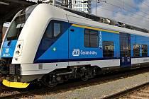 Souprava ČD RegioPanter bude vozit cestující po modernizované trati Olomouc - Uničov