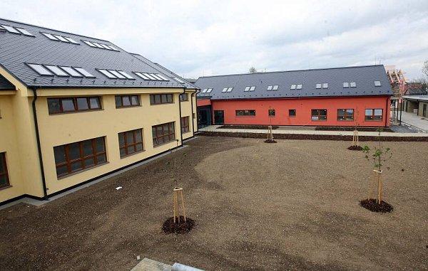 Areál vzdělávacího centra pro slabozraké děti vOlomouci–Hejčíně