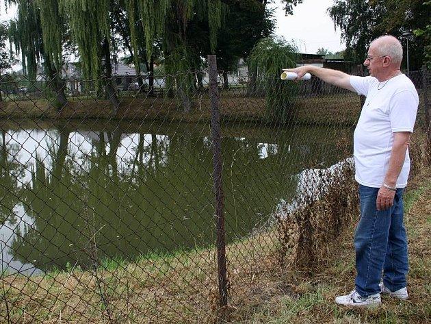 Rybník ve Štěpánově
