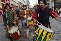 Svátky města Olomouce - průvod ke cti svaté Pavlíny