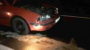 U Vikantic na Šumpersku vrazilo auto do spadeného stromu