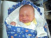 Adam Frank, Křelov, narozen 10. října ve Šternberku, míra 48 cm, váha 2960 g