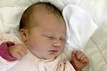Klára Flodrová, Chomoutov narozena 13. října míra 51 cm, váha 3730 g