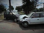 Dopravní nehoda u Drahanovic si vyžádala pět zraněných.