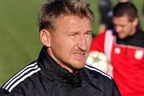 Marek Heinz na tréninku HFK Olomouc