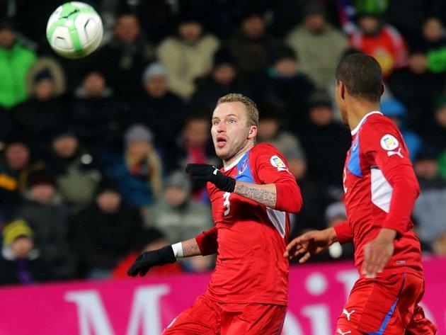 Fotbalová reprezentace v Olomouci. Ilustrační foto