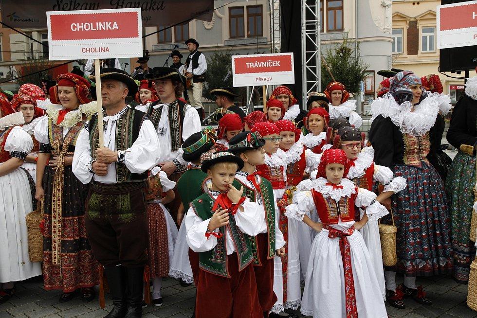 Setkání Hanáků v Přerově, září 2019