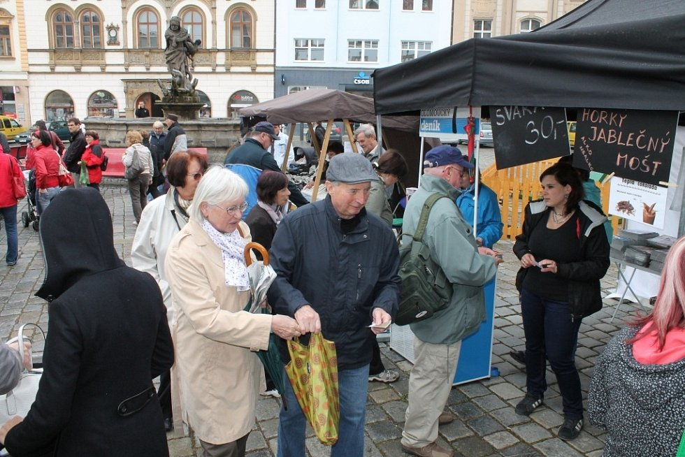 Kavárna deníku na Horním náměstí v Olomouci