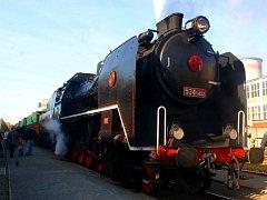 Parní lokomotiva Kremák