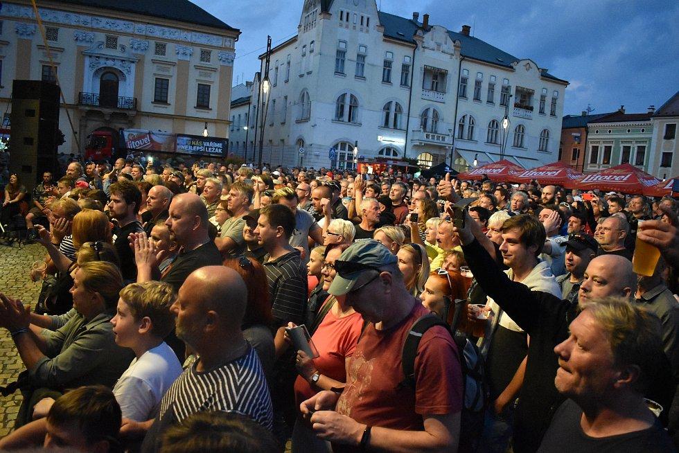 Litovelské slavnosti: koncert skupiny Pražský výběr, 4. září 2021