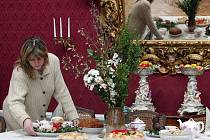 Na zámku v Námešti na Hané se připravují na velikonoční prohlídky.