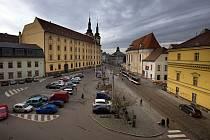 Náměstí Republiky v Olomouci